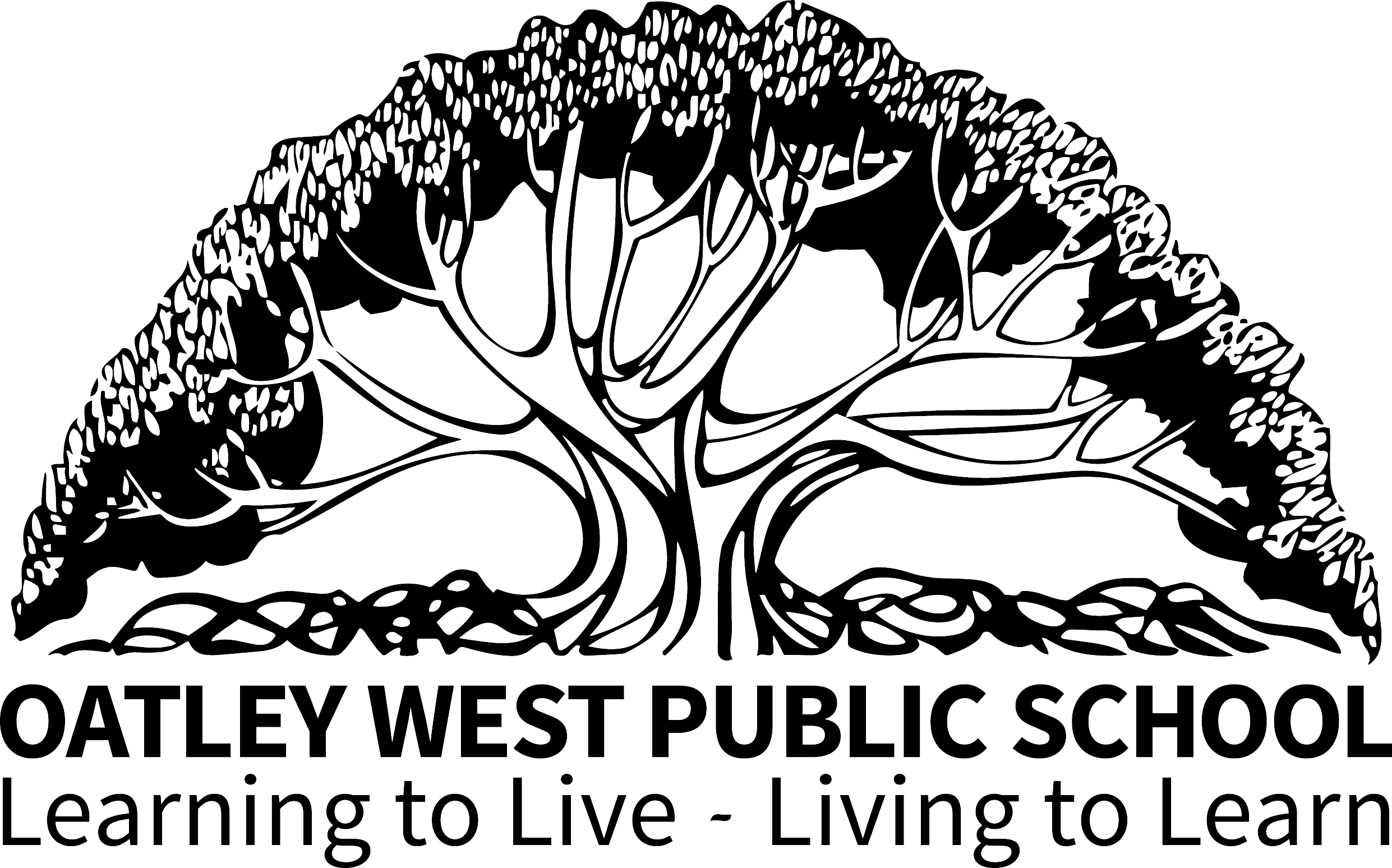 Oatley West Public School logo